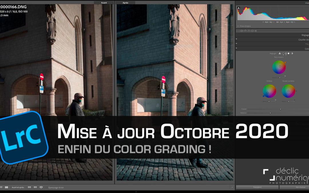 Enfin du COLOR GRADING dans Lightroom Classic CC (MàJ Octobre 2020)