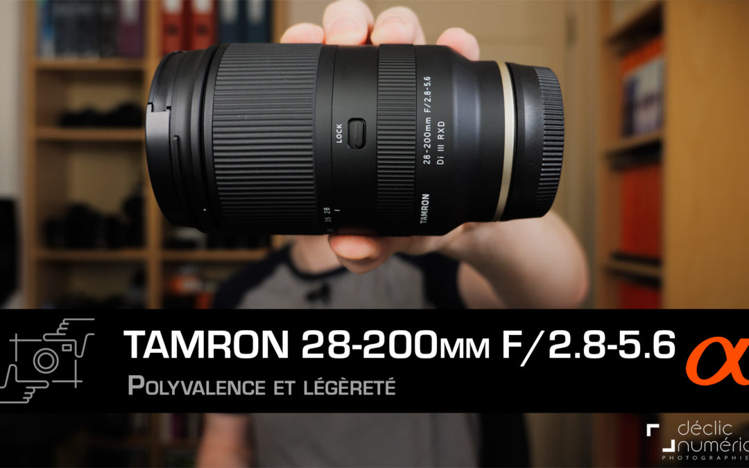 TAMRON 28-200mm f/2.8-5.6 (Sony FE) : Un zoom de voyage polyvalent, compact et performant.