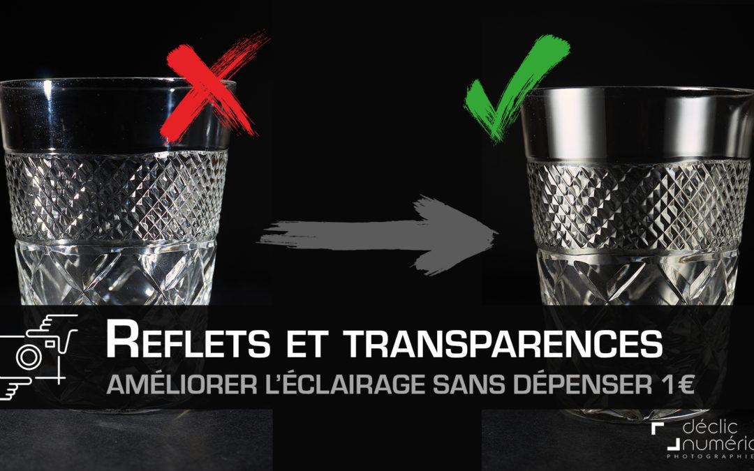 Reflets et transparences : Améliorer l'éclairage de vos photos sans dépenser 1€
