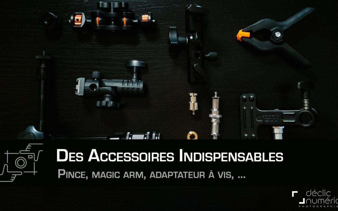Des accessoires indispensables pour tout fixer !