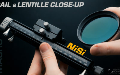 LENTILLES CLOSE-UP et RAIL MACRO NiSi