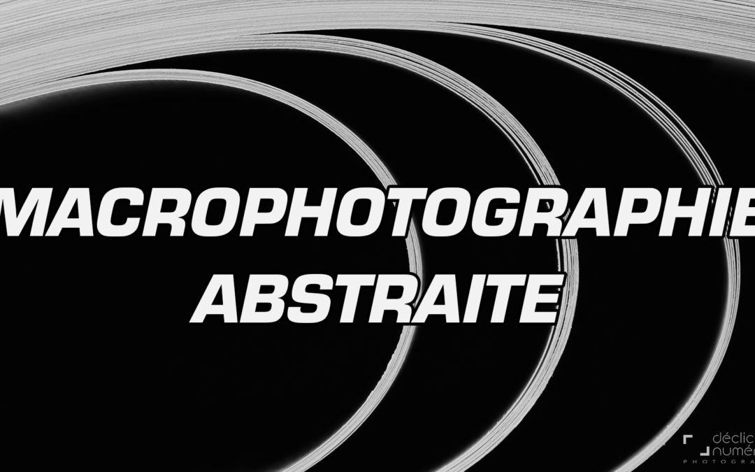 Faites de la MACROPHOTOGRAPHIE ABSTRAITE avec vos livres!