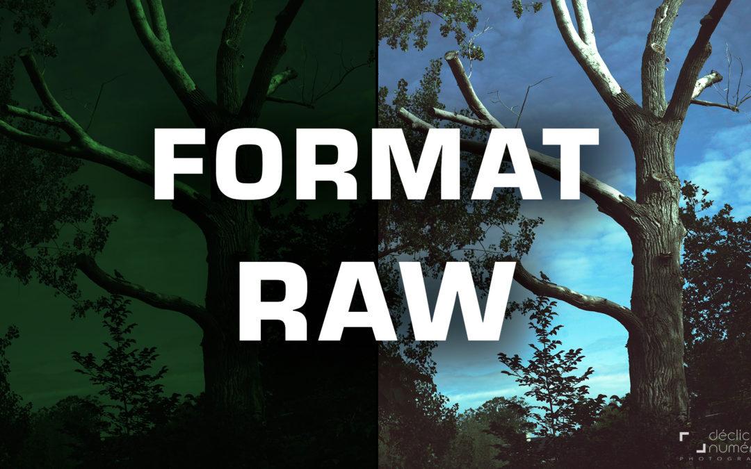 Le format RAW en Photographie