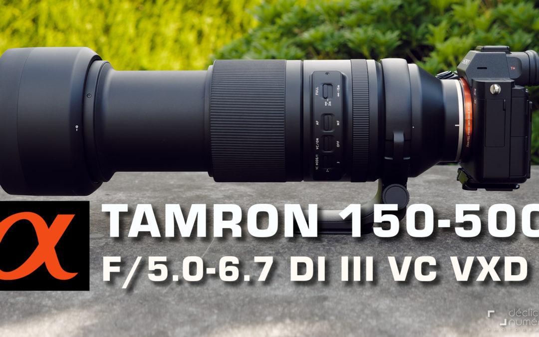 Revue du Tamron 150-500mm f/5.0-6.7 Di III VC VXD : un prix contenu et d'excellentes performances.